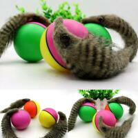 Pet Cat Toys Interactive Teaser Chase Moving Weasel Roll Ball Battery Operated