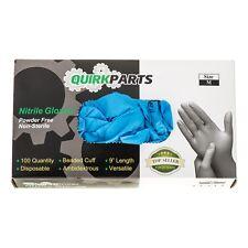 NEW ONE BOX Of 100 Blue Nitrile Powder Free Disposable Non-Sterile Medium Gloves