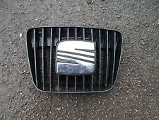 SEAT IBIZA MK3 MODELS 1999 - 2002 CHROME PLATED FRONT GRILLE WITH BLACK FINS