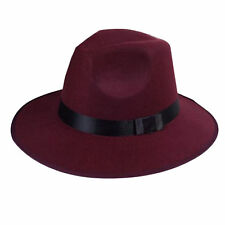 Fedora/Trilby 100% Wool Hats for Women