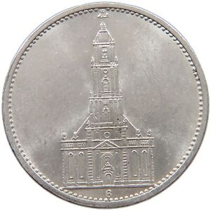 GERMANY 5 MARK 1935 G TOP #t147 275