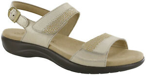 SAS Nudu Sandal Golden 8.5 Medium Women's Shoes FREE SHIPPING New In Box