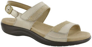 SAS Nudu Sandal Golden 6.5 Medium Women's Shoes FREE SHIPPING New In Box