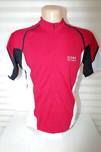 Gore Bike Wear Cycle Road Touring MTB Jersey Size XL Half Zip