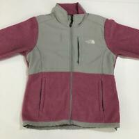 Womens The North Face Jacket Parachute & Fleece Jacket Gray Pink Colour Size L/G
