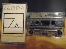 RARE OOP Frank Zappa CASSETTE TAPE Ship Arriving Too Late STEVE VAI Valley Girl