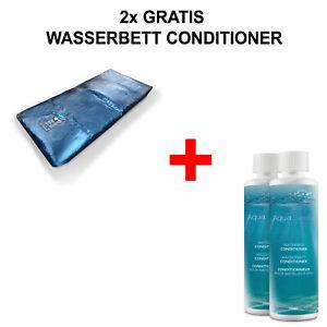 DUAL Wasserbett Matratze Wasserkern SOFTSIDE alle Größen + 2 Gratis Conditioners