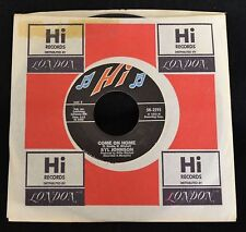 Syl Johnson Hi 2295 I Only Have Love and Come On Home