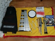 LUDWIG XYLOPHONE MALLET PERCUSSION 32 KEYS AND PRACTICE PADWITH STAND AND ORIGIN