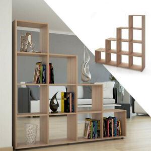 Wooden 10 Cube Book Shelf Unit Storage Bookcase Display Shelving Furniture