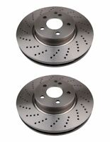 Vented Front Brake Disc For Mercedes-Benz C-Class, pack of 2 Left & Right Side