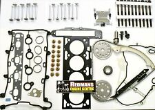 vauxhall vectra 2.2 Z22SE Head rebuild kit head gasket set valves,timing kit
