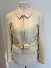 Chanel Jacket In Beige Tweed FR40