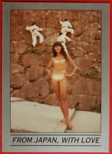 JAMES BOND - You Only Live Twice - Base Card #027 - FROM JAPAN, WITH LOVE