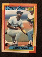 1990 Topps Frank Thomas Chicago White Sox #414 Baseball Card