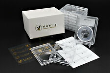 NUMIS 10 Pack 26mm Acrylic Clear Coin Case Slab Holders Presidential Dollars