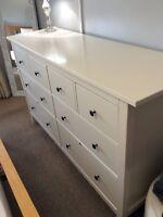 Ikea Hemnes Large white Chest Of Drawers