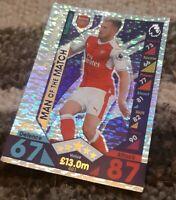 TOPPS MATCH ATTAX 2016/2017 - #401 Aaron Ramsey - Arsenal - MAN OF THE MATCH