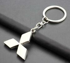 MITSUBISHI 3D CHROME KEYRING           BRAND NEW