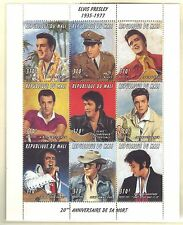 MALI MNH 1997 ELVIS PRESLEY IN SOUVENIR SHEET OF 9