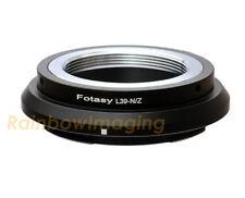 "Leica M39 39mm Lens to Nikon Z6 Z7 Mirrorless Camera Adapter ""US Seller"""