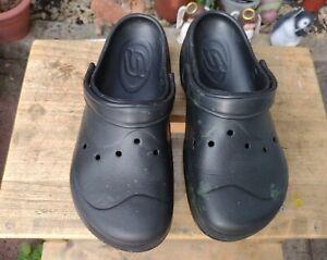 Skechers Clogs Beach Shoes Size 6 Six Black Summer Ladies Light Weight Festival
