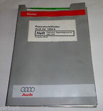 Werkstatthandbuch Audi A4 / quattro B5 Fahrwerk Eigendiagnose für ABS, ESP ab 95