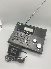 Uniden Bearcat BC340CRS Police Scanner Weather Radio Alarm Clock 100 Channels