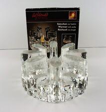 VTG Belmondo Glass Tea Coffee Carafe Warmer Light Votive West Germany Bel Mondo