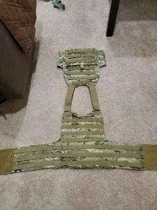 Tactical Assault Gear Plate Carrier TAG Lightweight MOLLE