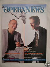 Opera News - October 1998 - Recording Issue