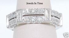 1.44 CTW Diamond & Platinum Ring Size 5.75 Not Enhanced