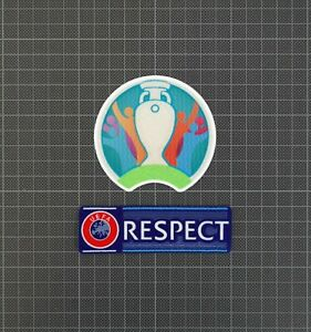 UEFA Euro 2020 & RESPECT Sleeve Patches/Badges