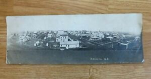 COGSWELL, NORTH DAKOTA, Real Panoramic Scene of Town, Posted Post Card, 1900's