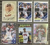 ⚾️Ozzie Albies 6-CARD LOT including ROOKIE 2018 Allen & Ginter #116