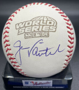 Red Sox Captain Jason Varitek 2004 World Series Auto MLB ball PSA/DNA cert