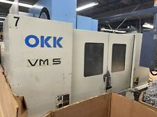 Okk Vm5 Vertical Machining Center