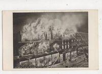 Great Fire  At Kilburn Jan 13th 1910 London Postcard 431b