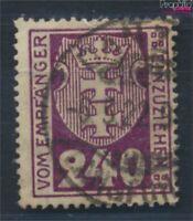 Danzig P9a geprüft gestempelt 1921 Portomarke (6937540