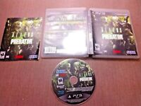 Sony PlayStation 3 PS3 CIB Complete Tested Aliens vs Predator Ships Fast