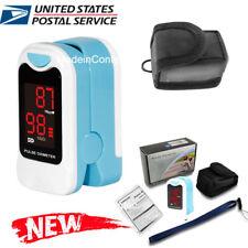Finger Pulse Oximeter Heart Rate Monitor SPO2 Blood Oxygen Meter Monitor LED USA
