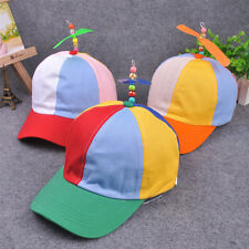 Adjustable Propeller Baseball Ball Cap Hat Multi-Color Clown Costume Accessory