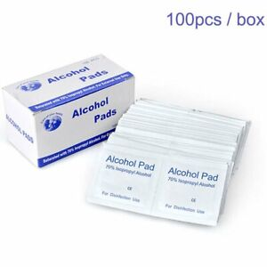 Hearing Aid Cleaning Wipes Towelettes Individually Packaged Alcohol Pads