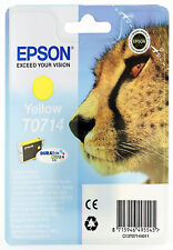 Epson Original T0714 Yellow Ink Cartridge