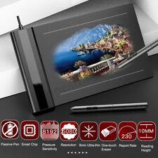 VEIKK S640 Graphique Planche à Dessin Tablette Numérique Artiste Signature Stylo