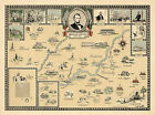 Historical+Map+Abraham+Lincoln+Homeland+1809-1865+11%22x15%22+IN+KY+IL+Wall+Poster