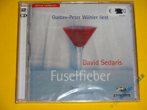 *CD* David Sedaris - Fuselfieber * Heyne Hörbuch * NEU & OVP *
