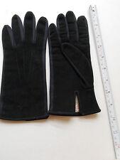 Suede Driving Vintage Gloves