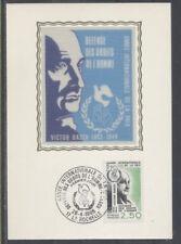 FRANCE FDC - 2415 5 VICTOR BASCH ANNEE DE LA PAIX - 26 Avril 1986 -LUXE sur soie