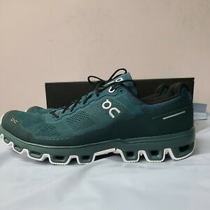 ON Cloud Venture Men Shoes Color Evergreen/White Sz 10.5 FREE SHIPPING
